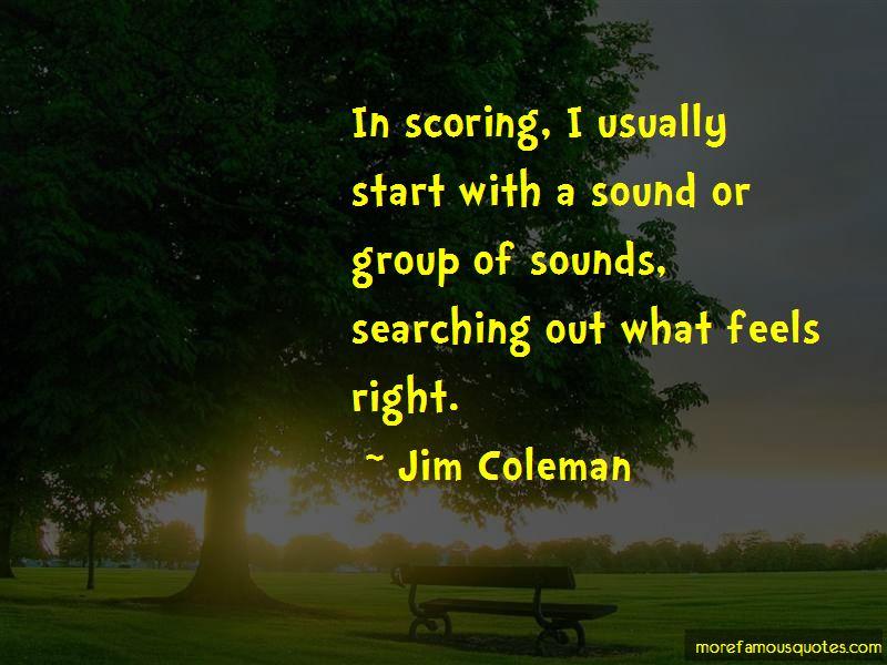Jim Coleman Quotes Pictures 3