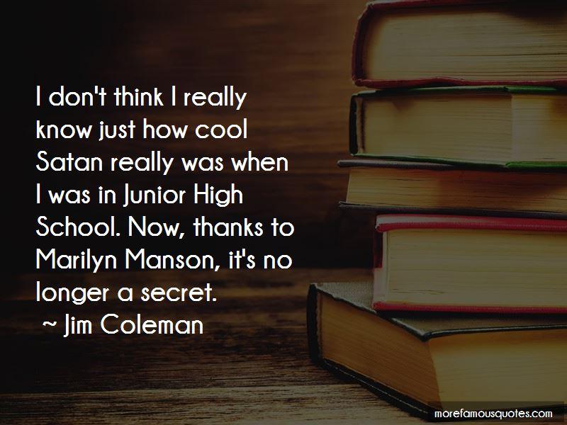 Jim Coleman Quotes Pictures 4