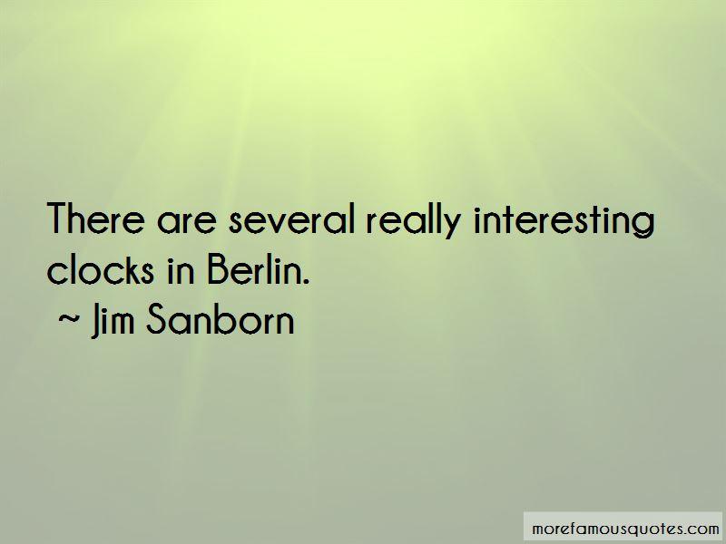 Jim Sanborn Quotes