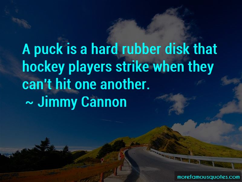 Jimmy Cannon Quotes Pictures 2