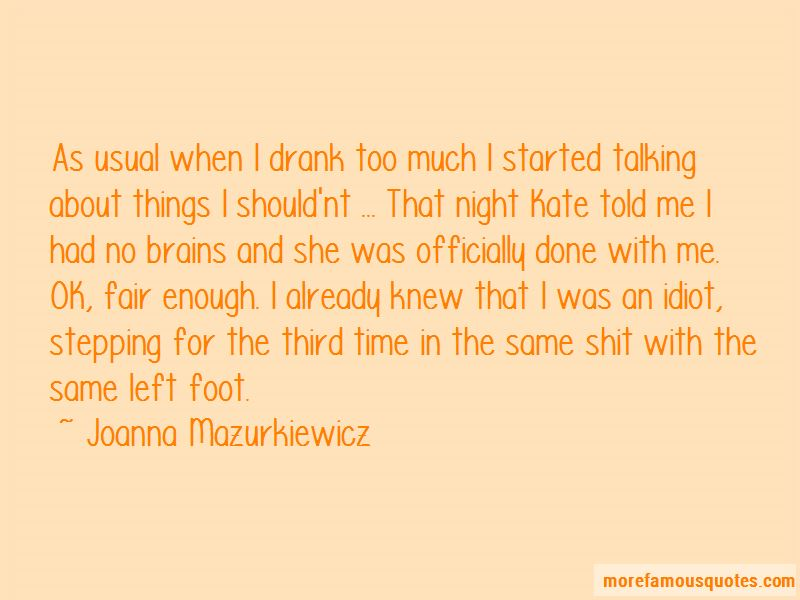Joanna Mazurkiewicz Quotes Pictures 3