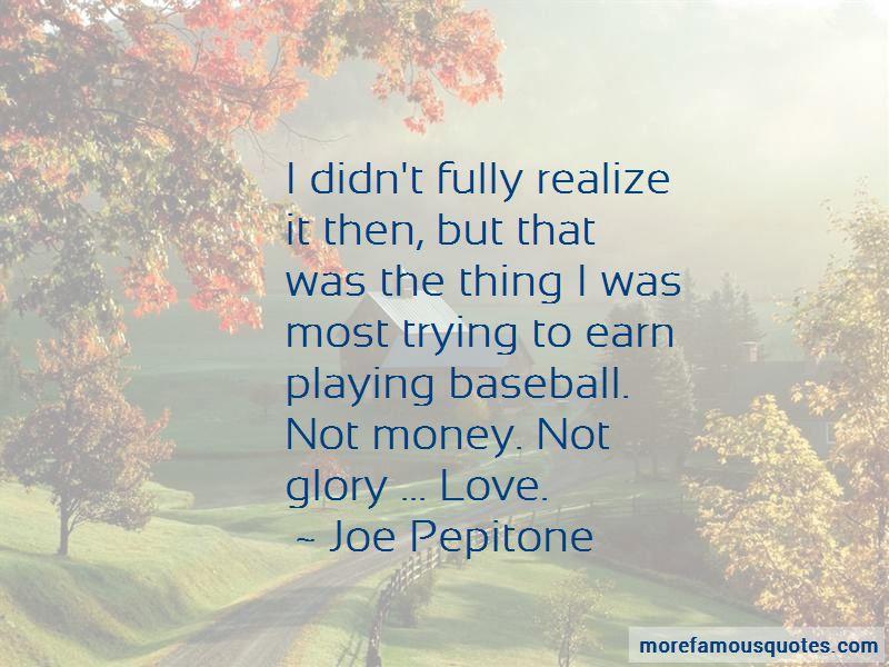 Joe Pepitone Quotes
