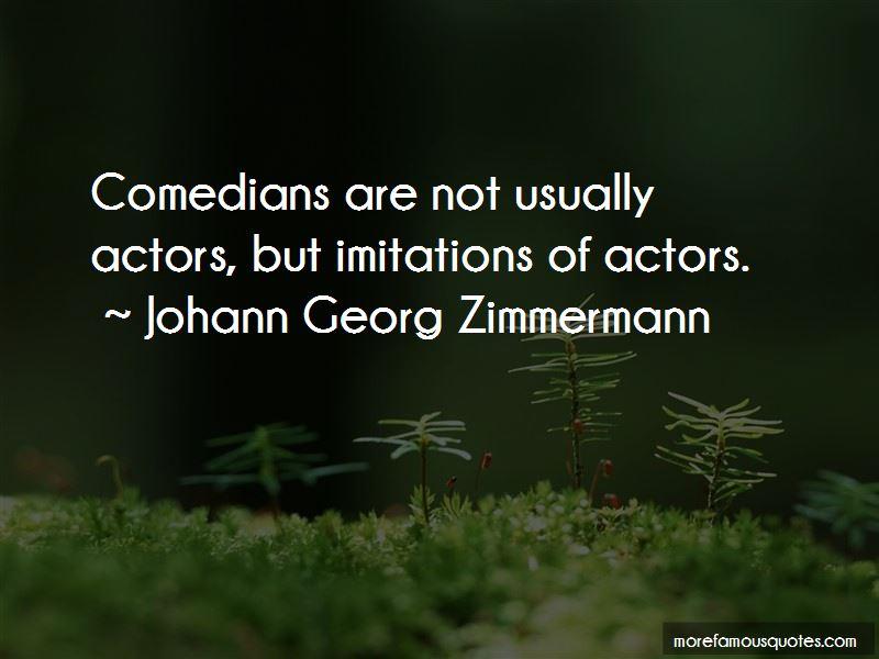 Johann Georg Zimmermann Quotes