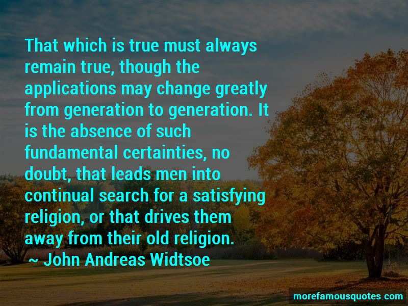 John Andreas Widtsoe Quotes Pictures 2