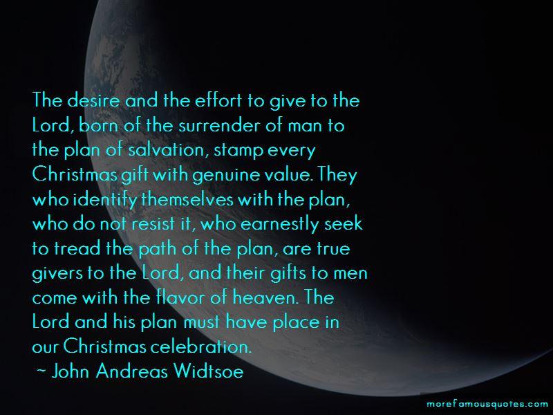 John Andreas Widtsoe Quotes