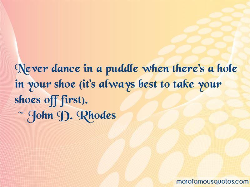 John D. Rhodes Quotes