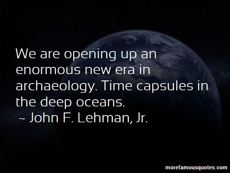 John F. Lehman, Jr. Quotes Pictures 2