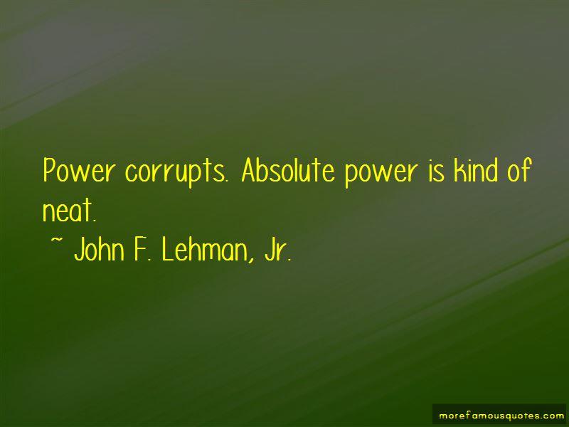 John F. Lehman, Jr. Quotes