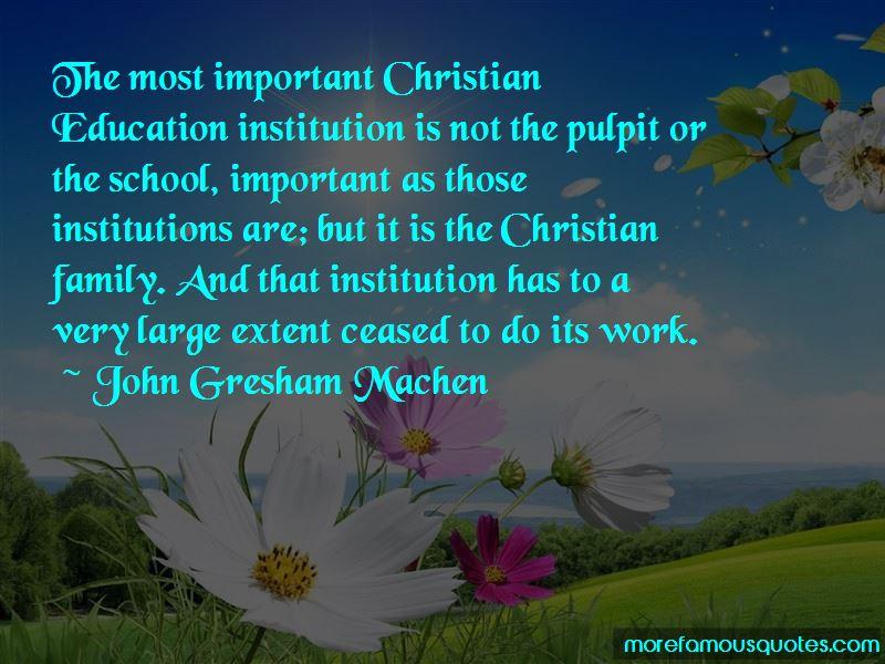 John Gresham Machen Quotes