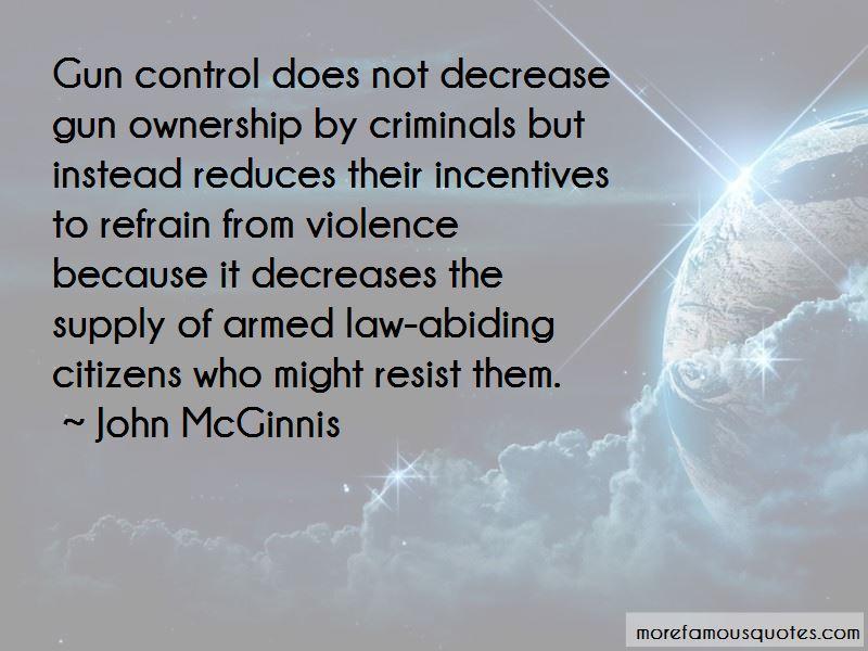 John McGinnis Quotes