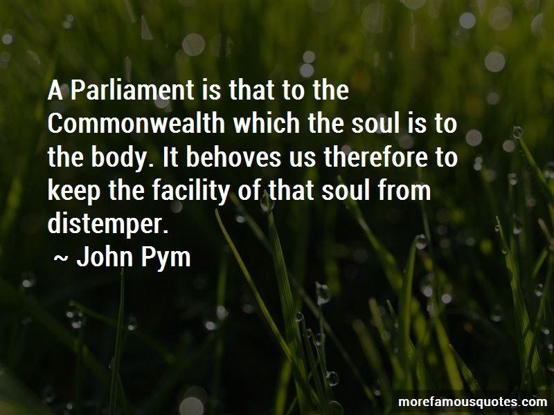 John Pym Quotes