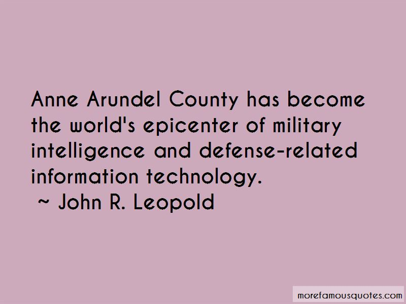 John R. Leopold Quotes Pictures 2