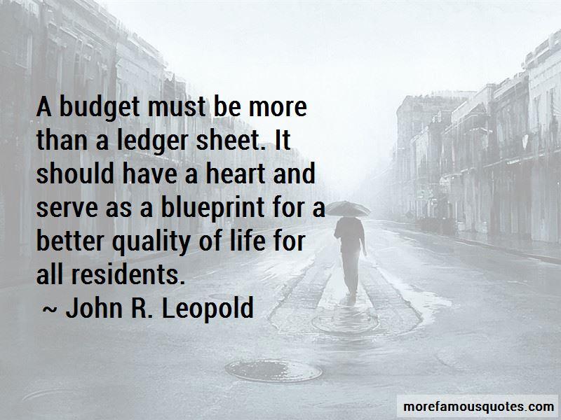 John R. Leopold Quotes