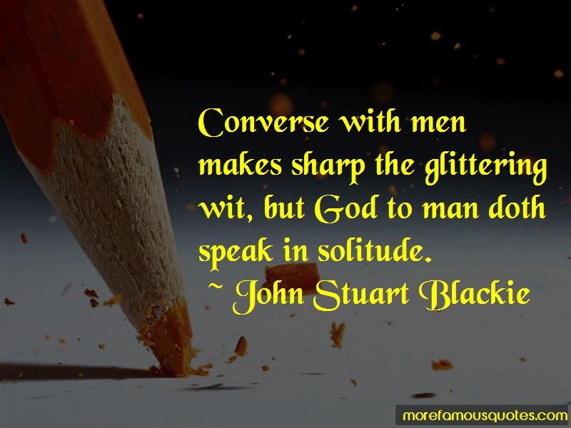 John Stuart Blackie Quotes