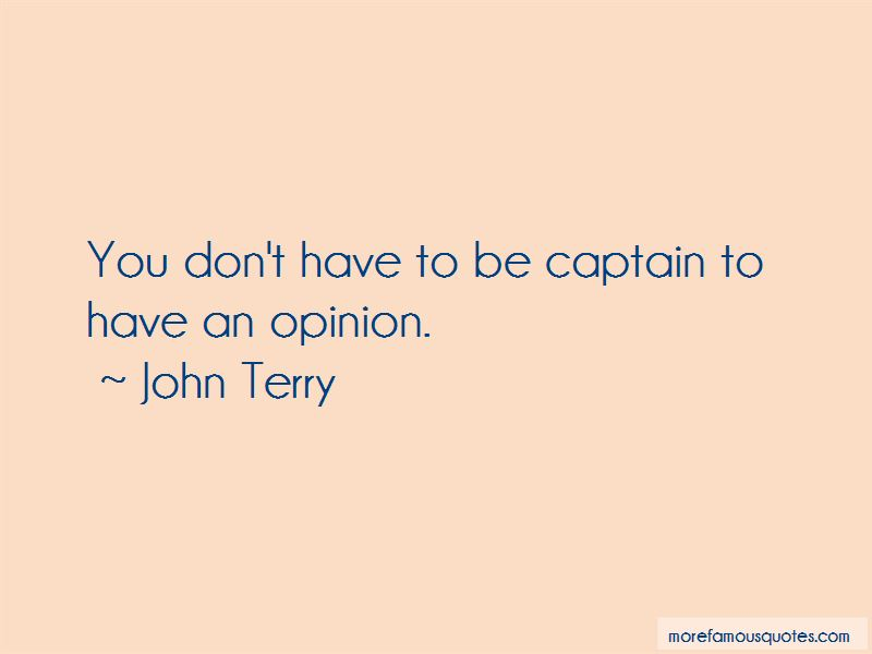 John Terry Quotes Pictures 4