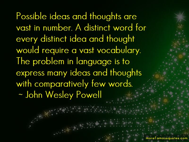 John Wesley Powell Quotes