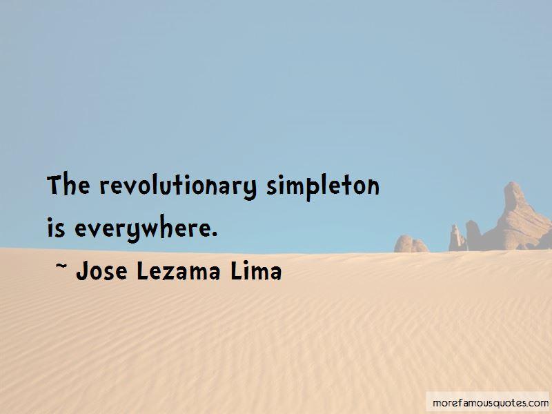 Jose Lezama Lima Quotes