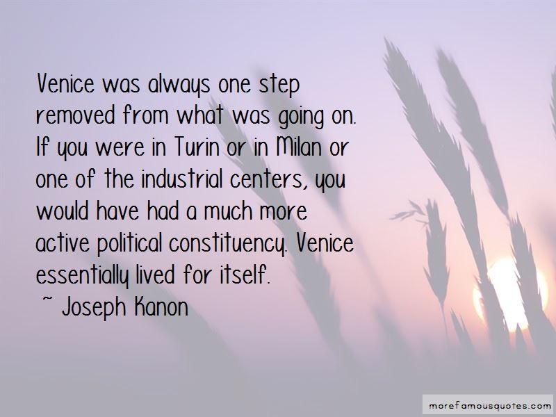 Joseph Kanon Quotes