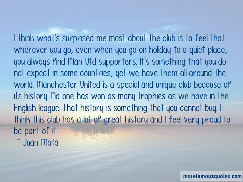 Juan Mata Quotes