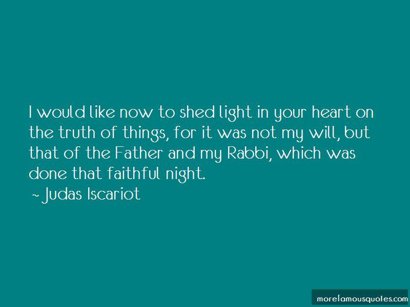 Judas Iscariot Quotes Pictures 3