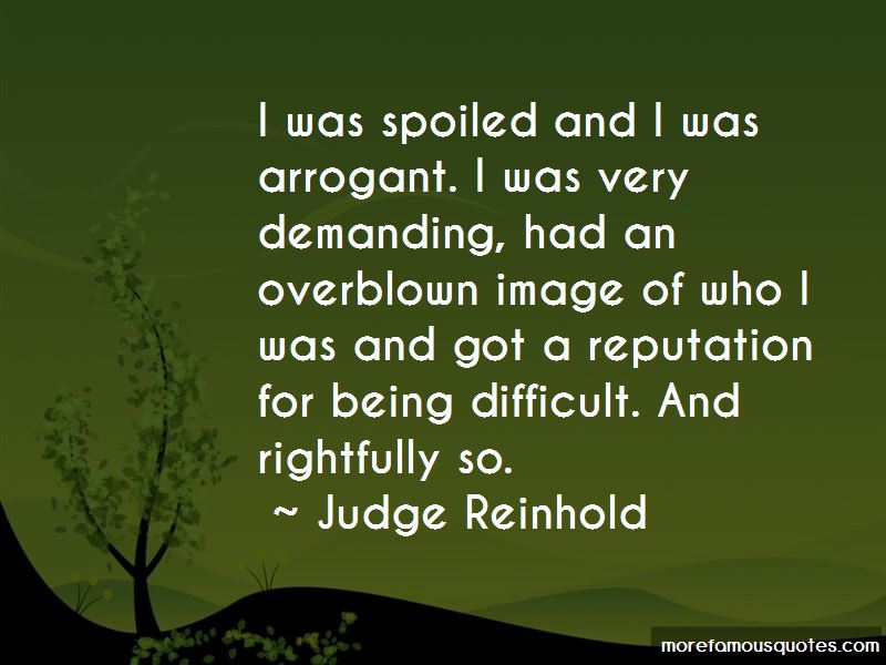 Judge Reinhold Quotes