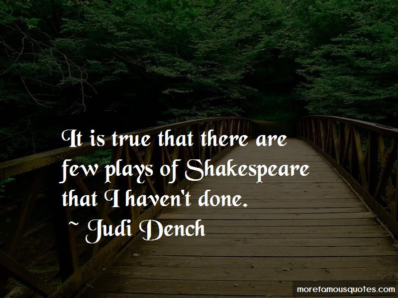 Judi Dench Quotes Pictures 2