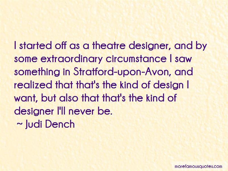 Judi Dench Quotes