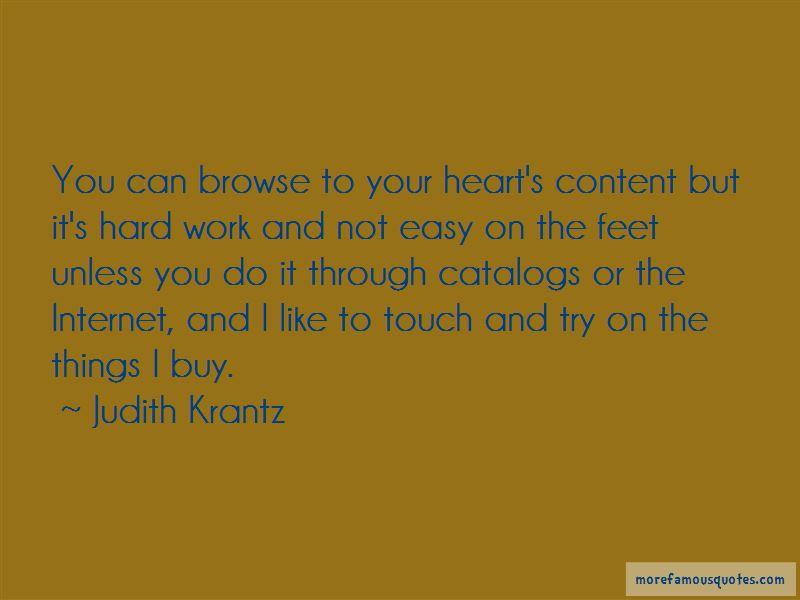 Judith Krantz Quotes Pictures 2