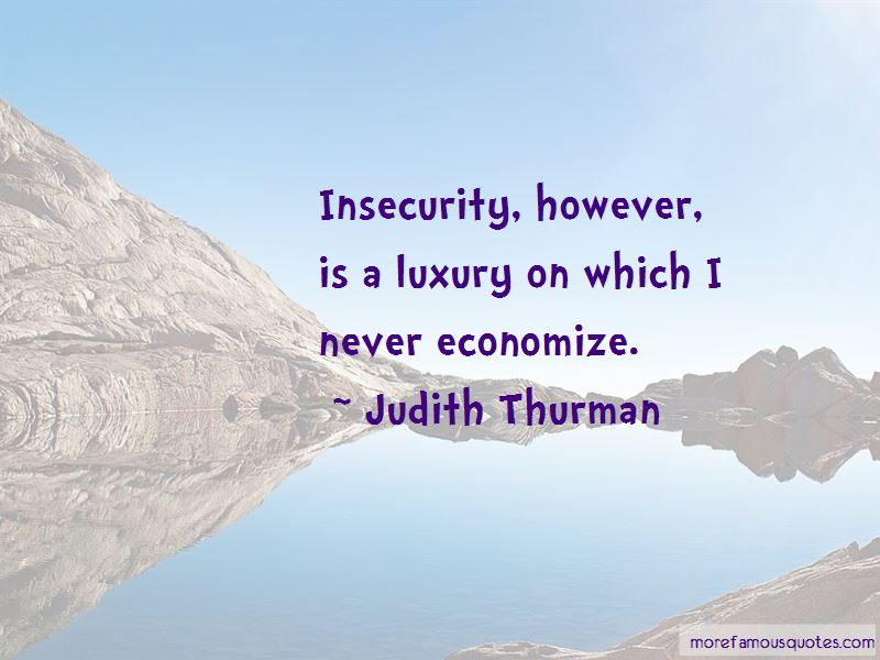 Judith Thurman Quotes Pictures 2
