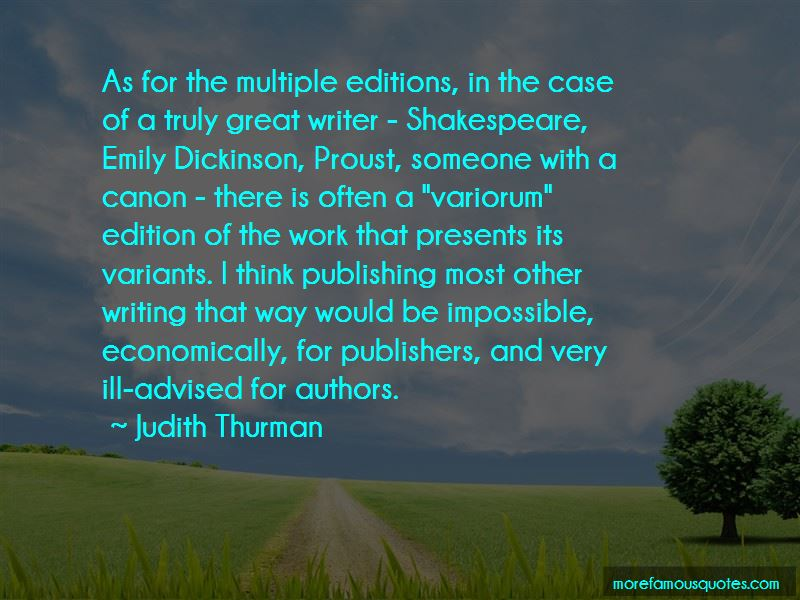 Judith Thurman Quotes Pictures 3