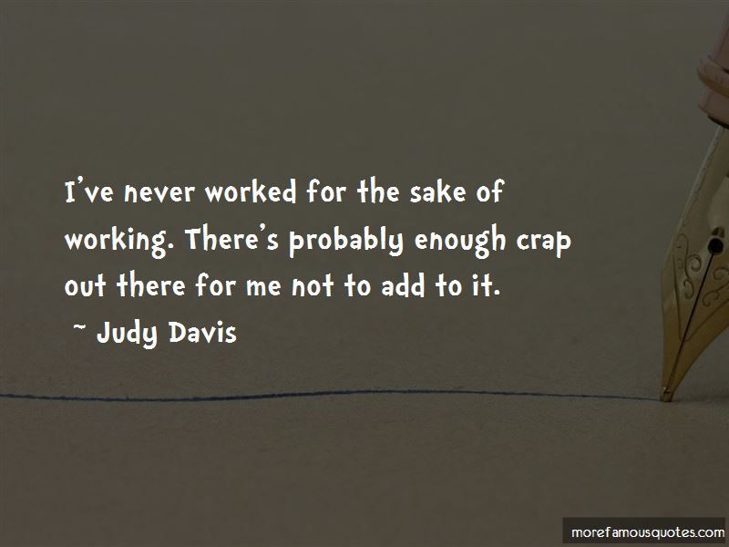 Judy Davis Quotes Pictures 3
