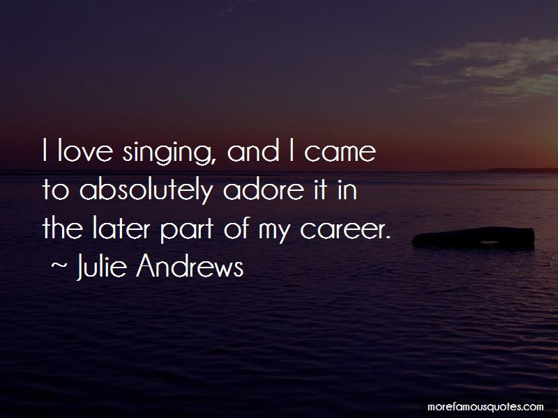 Julie Andrews Quotes Pictures 2