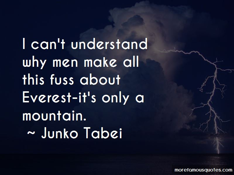 Junko Tabei Quotes