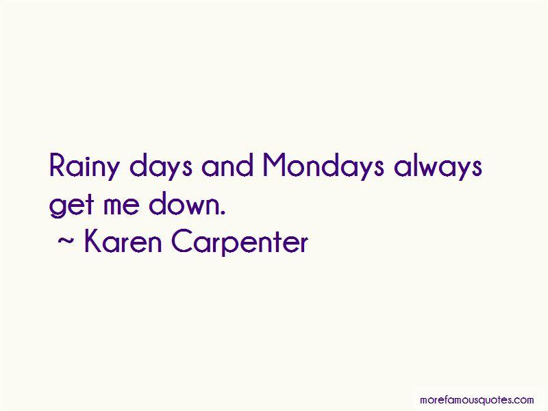 Karen Carpenter Quotes Pictures 3