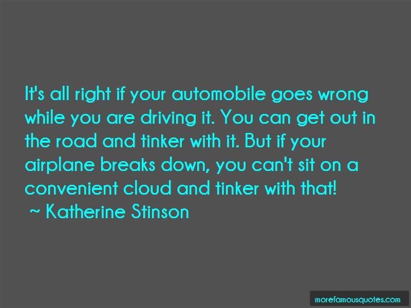 Katherine Stinson Quotes Pictures 3