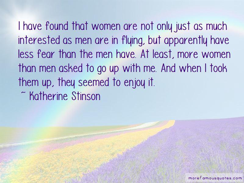 Katherine Stinson Quotes