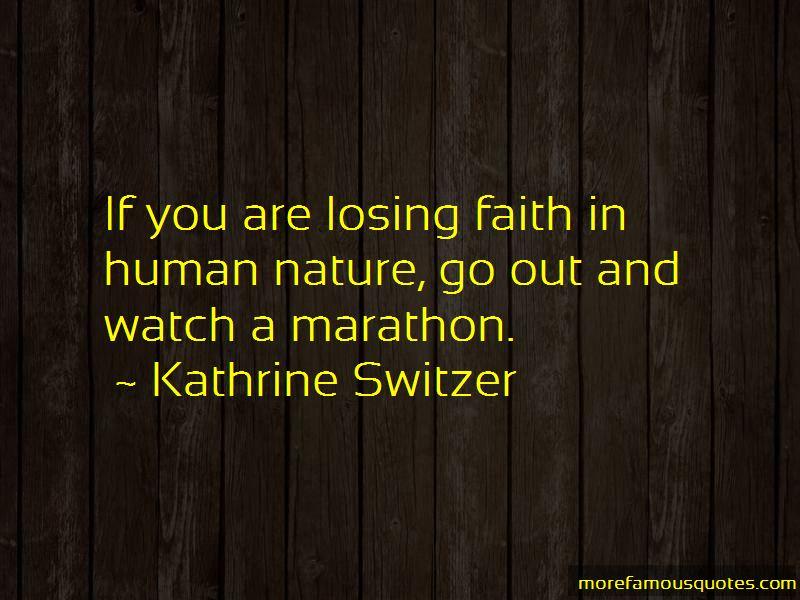 Kathrine Switzer Quotes