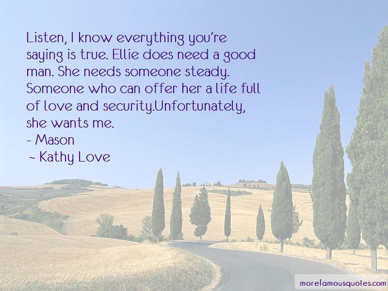 Kathy Love Quotes