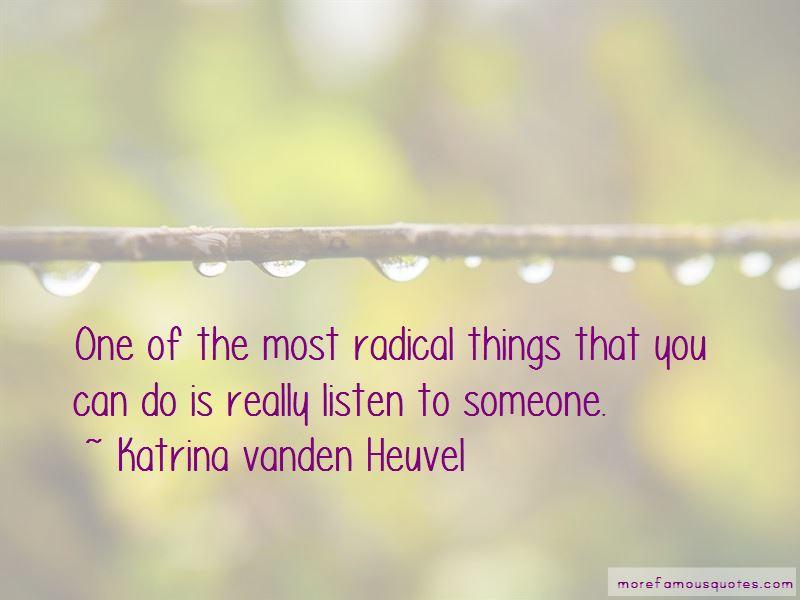 Katrina Vanden Heuvel Quotes Pictures 2