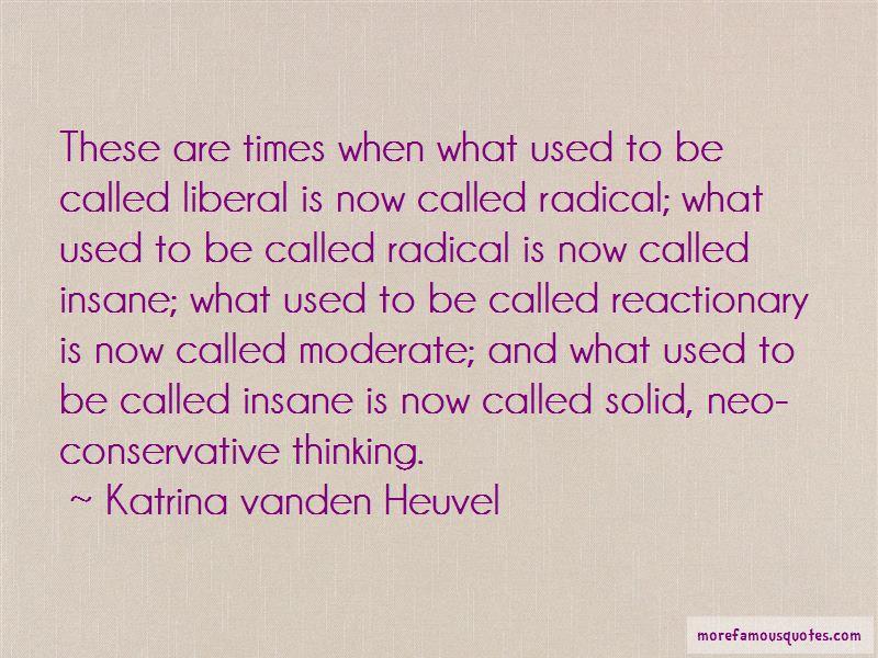 Katrina Vanden Heuvel Quotes