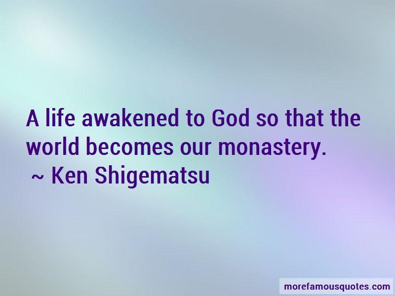 Ken Shigematsu Quotes Pictures 2