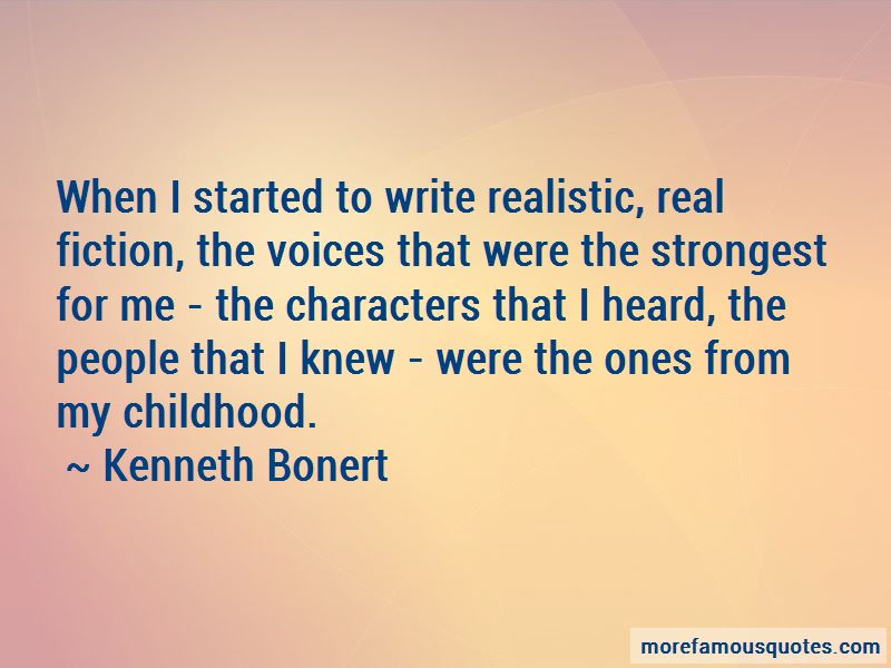 Kenneth Bonert Quotes Pictures 2