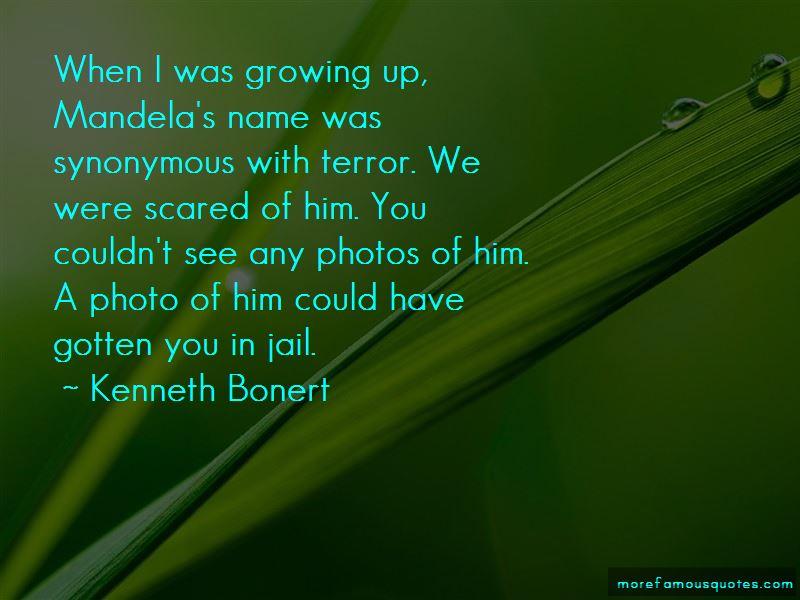 Kenneth Bonert Quotes