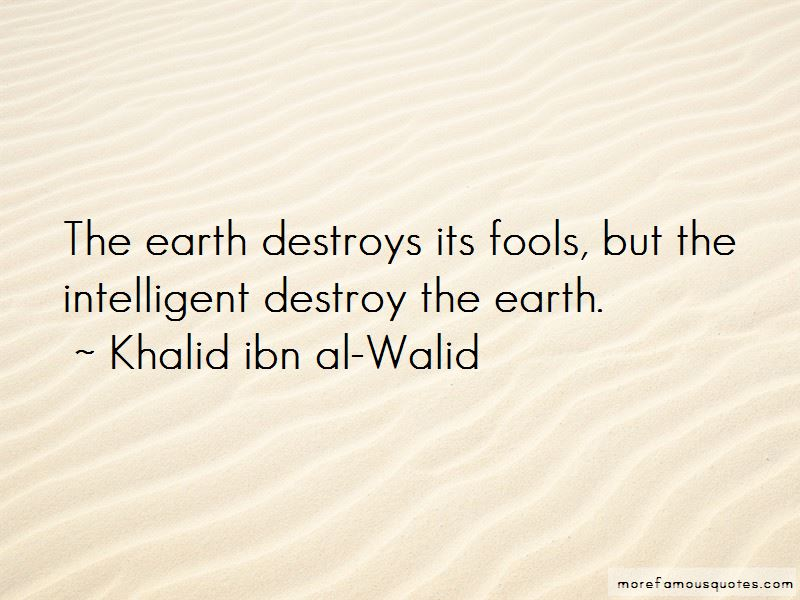 Khalid Ibn Al-Walid Quotes Pictures 2