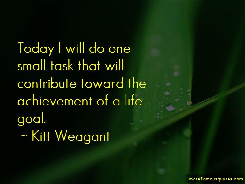 Kitt Weagant Quotes