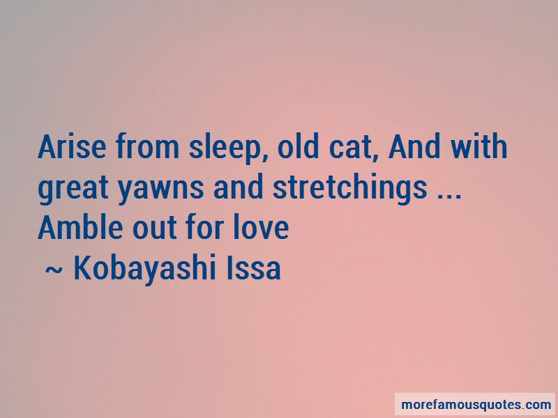 Kobayashi Issa Quotes Pictures 3