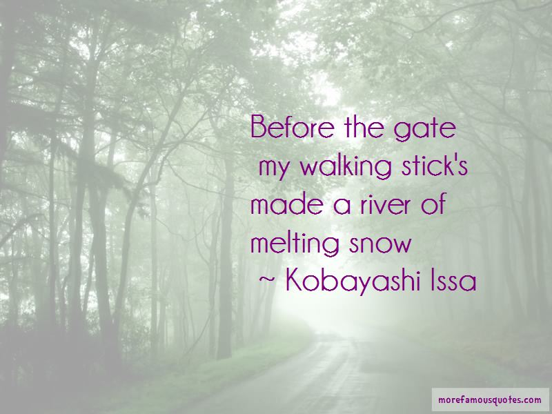Kobayashi Issa Quotes