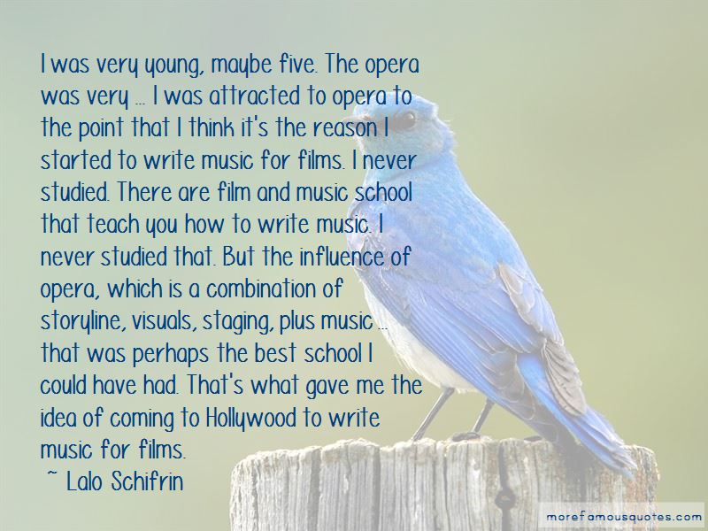 Lalo Schifrin Quotes