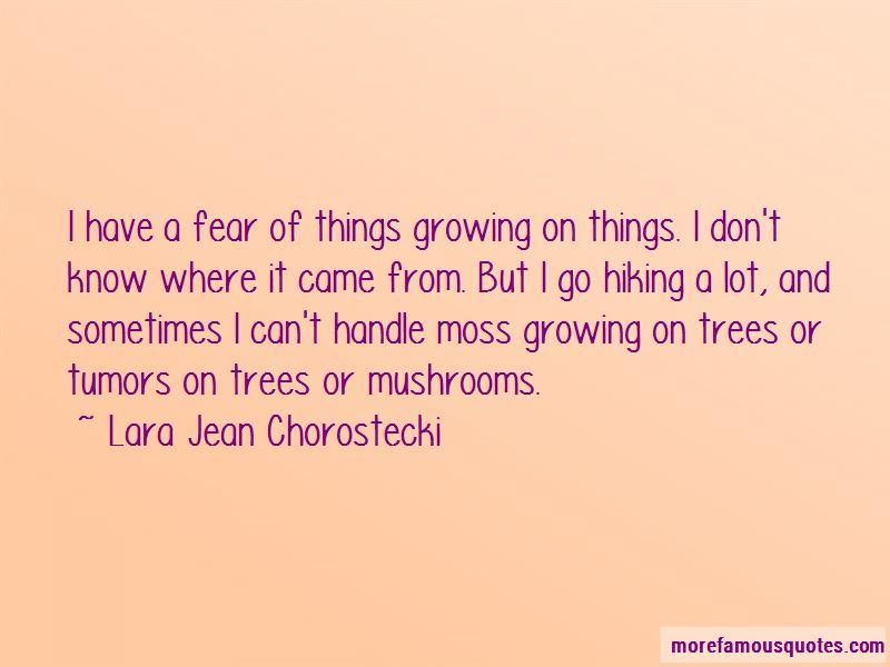 Lara Jean Chorostecki Quotes Pictures 2