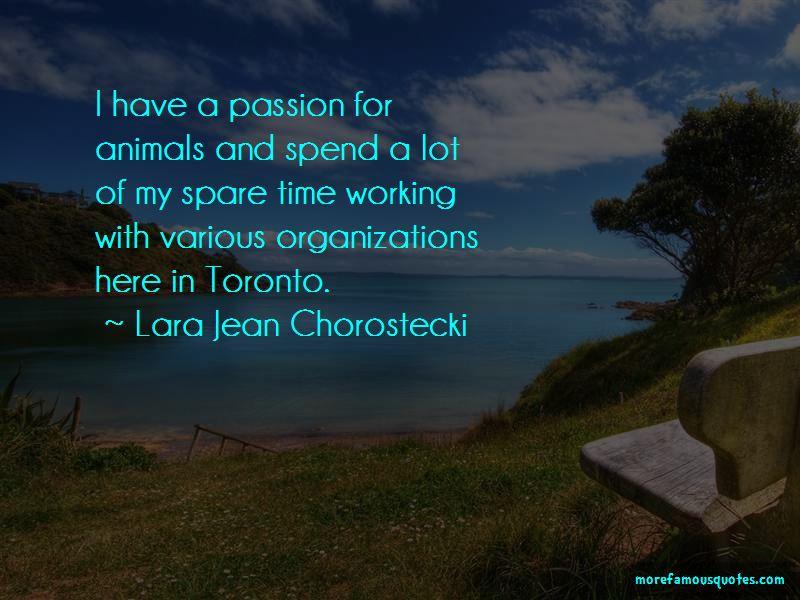 Lara Jean Chorostecki Quotes